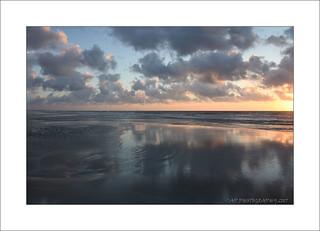 Sun rise on the Atlantic