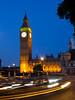 Big Ben and Houses of Parliament at night (mikecleggphotography) Tags: bigben city clockface clocktower dusk effect england famousplace housesofparliament lighttrail london night taxi tourestdestination traffic uk