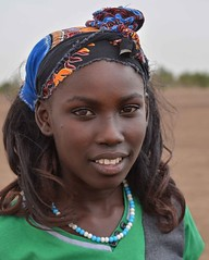 Nyangaton Girl (Rod Waddington) Tags: africa african afrique afrika äthiopien ethiopia ethiopian ethnic etiopia ethnicity ethiopie etiopian nyangaton tribal tribe traditional girl wig portrait people beads omovalley omo omoriver