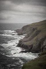 (philippe baumgart) Tags: stoer scotland highlands sea landscape cliff storm