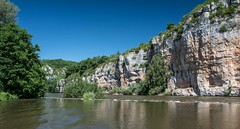 Cliffs of Coudoulous (keithhull) Tags: riverlot cliffsofcoudoulous rocks river reflection lot france 2017 explore