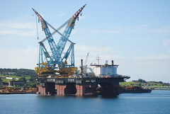 Saipem 7000 crane vessel (Tom_bal) Tags: saipem 7000 crane vessel off sea oil rigs norway nikon