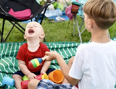 Hilarious (donna_0622) Tags: cups baby funny hilarious laughing 4thofjuly nikon d750