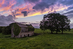 """""""Childhood Memories"""" (Gareth Wray - 10 Million Views, Thank You) Tags: dji mt phantom four 4 pro p4p ballymagorry artigarvan leckpatrick parish mill barn drone aerial quadcopter landscape landmark tourist attraction tourism tourists historic history visit tyrone strabane ireland irish scenic gareth wray photography nikon sun atlantic day vacation 2017 sunset hill home house ruin abandoned homestead manor mansion red road dry stone decay rural traditional lost overgrown design architecture"""