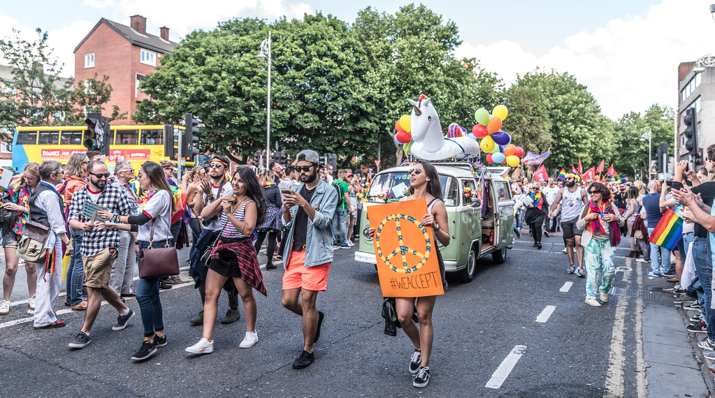 LGBTQ+ PRIDE PARADE 2017 [ON THE WAY FROM STEPHENS GREEN TO SMITHFIELD]-129989