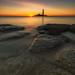 Good old Mary. (baldridge1271) Tags: stmaryslighthouse sunrise sea seaside seascape sony lighthouse longexposure photography rocks