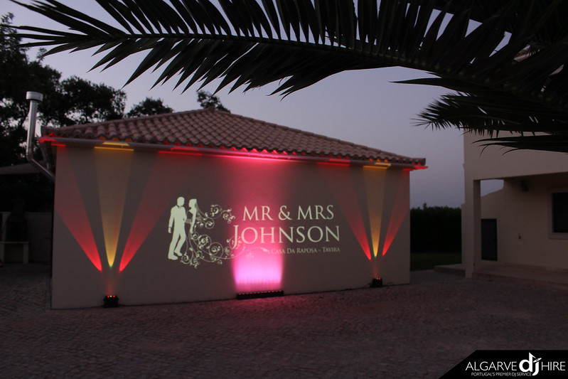 A monogram really does stick out and wow your guests as a focal point of your wedding reception. For more info, get in touch here www.weddingdjalgarve.com