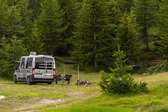 Relax nei boschi-9 ( YariGhidone ) Tags: rosso cesana lago nero claviere monti della luna van life vanlife campe furgone vita avventure adventure campfire camping wildlife wild camper