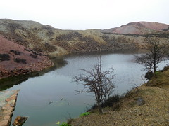 drizzle over parys mountain (susie alfie) Tags: parys mountain copper mine anglesey