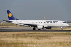 D-AECA @FRA (thokaty) Tags: daeca lufthansa lufthansacityline lufthansaregional embraer e190 e190lr erj190 frankfurtairport fra eddf