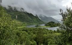 Glenfinnan Explore (Jane Desforges) Tags: west highlands scotland loch shiel mountains misty