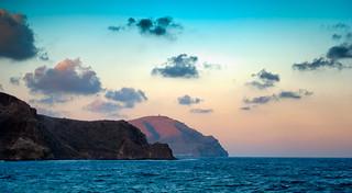 Atardeceres junto al mar. Cabo de Gata.