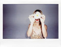 The Mynabirds (Jason Lester Photography) Tags: themynabirds lauraburhenn polaroid fujifilm fujifilminstax fuji film analogue musician portrait fujiinstax210
