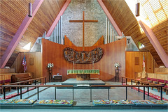 Grace Episcopal Church (ioensis) Tags: grace episcopal church frederick dunn architect architecture altar reredos communion rail cross pipes organ jdl ioensis
