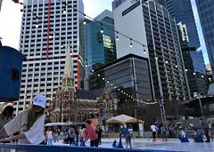 Ice skating in Brisbane city (Aussie~mobs) Tags: winter city brisbane queensland australia skating