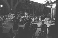 (A.K Photographiti) Tags: warszawa powisle pkp warschau varsavia varsovie warsaw bar people drink chill out smoke night nikon f100 agfa photo apx 400 train station stazione treni