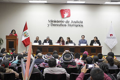 "Ministra inauguró ""V Congreso de la Coordinadora Nacional de Afectados por la Violencia Política"" • <a style=""font-size:0.8em;"" href=""http://www.flickr.com/photos/156664909@N08/35499854520/"" target=""_blank"">View on Flickr</a>"