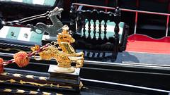 Ornate Gondolas (elizunseelie) Tags: venice italy europe travel trip pentax k5 summer boat gondola gondolier cherb ornate