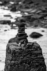 Rock sculpture (1 of 1) (davebennett65) Tags: sculpture rocks art coast stone rocksculpture