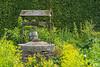 La vérité sort du puits. (Burma7) Tags: fleur flower puits garden jardin rêverie