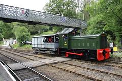 Severn Valley Railway Diesel Gala (Paul Emma) Tags: uk england severnvalleyrailway svr dieseltrain train railway railroad