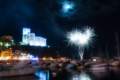 Lerici Fireworks (Russosalv) Tags: lerici italy fireworks night party long exposure