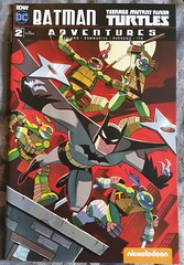 BatmanTeenage Mutant Ninja Turtles Adventures Vol 1 #2 2017 Chad Thomas RI cover (big-ashb) Tags: comic book first edition cult vintage marvel dc wildstorm idw rare collection collector cover art animation