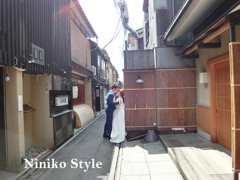 日本,海外,自助,婚紗,京都,櫻花,花圈