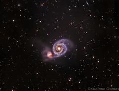 M51 Whirlpool Galaxy (Lucianoastrofoto) Tags: m51