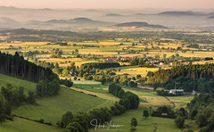 Sunrise @ Allegre - Auvergne - France (Henk Verheyen) Tags: allegre fr france frankrijk landscape landschap fog mist sunrise zonsopkomst