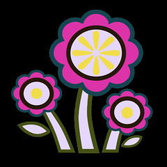 flowers 10 icon (kwippe) Tags: icons clipart vector