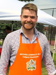 Michael Connolly (Canadian politician) (5of7) Tags: canadaday outdoor people arbourlake calgary 2017 politics politician male man fav orange mla michaelconnolly canadianpolitician michael connolly canadian elected 2015 election alberta electoral district calgaryhawkwood lgbt legislature albertanewdemocraticparty ndp