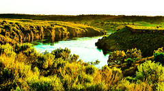Along the Snake I shall Rest! (In my Youth) Tags: river snakeriver i86 americanfalls idaho landscape