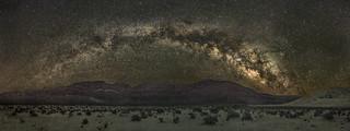 Death Valley Milky Way Pano (Explored)