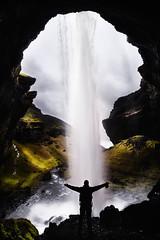Kvernufoss (pajavi69) Tags: islandia iceland kvernufoss water waterscape waterfall nikon nature landscape paisaje panorama panoramica d710 nikkor1224 airelibre roca cañón acantilado risco ladera cascada agua montaña verde cielo sky
