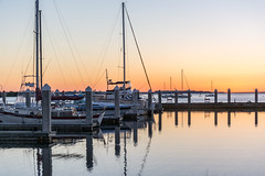 Sunset at the Docks (javajoba) Tags: ameliaisland fernandinabeach florida jackkennard nikon docks nikond5200 travel travellocal atlanta ga usa boats sailboats sunset reflection