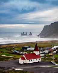 _DSC4953 copy (2careless) Tags: vik church iceland beach black sand sony a7r2 contax zeiss 3570mm f34 mt