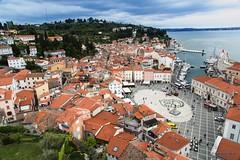 Pirano (Silver_63) Tags: piran castello panorama slovenia mare