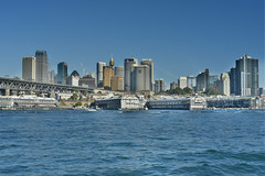 sydney city (Greg Rohan) Tags: sydneycity mcmahonspoint ocean harbour water architecture skyscrapers building cityscape blue sydney city photography hdr 2017 d7200
