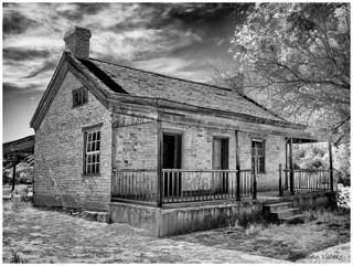 - A quiete afternoon at the ghost town of Grafton - Una silenciosa  tarde en el pueblo fantasma de Grafton -