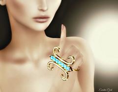 Shhhhh... (Eurídice Qork) Tags: model fashion fashionist sexy secondlife sl styling jewels chopzuey photoshop ps people portrait