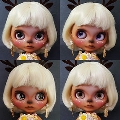 #02 Bambi - Custom Blythe Doll - OOAK Blythe Doll