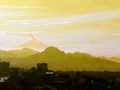 """I was a landscape in your dream"" (ix 2017) Tags: israfel67 méxico mexico mx morelos cuernavaca ahuatepec tepoztlán popocatépetl tepozteco volcán vulcano mountains montañas sierra paisaje landscape fumarola cielo horizonte skyline sky duotone editada edited ps perfil profile morning mañana niebla fog"