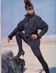 Gitano 1987 (barbiescanner) Tags: vintage retro fashion vintagefashion vintageads 80s 1980s 80sfashion 1980sfashion