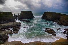 Pointe des Poulains (delphine imbert) Tags: ocean atlantique bretagne rocher eau horizon ciel orage paysage belleîle nature