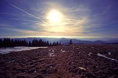 Blick vom Herzogenhorn (karl-heinzschwarz1) Tags: herzogenhorn schwarzwald wintersonne eos50 voigtländerultron1935 winter panorama clouds sun blackforest landscape