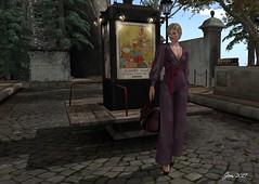Late For the Train 2 (Jem Sternhall) Tags: akeruka fashion kccouture kendrasycreations kosmetik laboheme maitreya secondlife slackgirl vista emotions