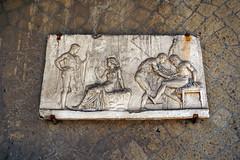 House of Relief of Telephus - Herculaneum, Italy (SomePhotosTakenByMe) Tags: houseofreliefoftelephus hausdestelephosreliefs relief kunst art urlaub vacation holiday italy italien stadt city ruin ruine ercolano herculaneum herkulaneum outdoor