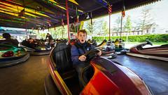 Dodgem Surprise (Bruno Naredo) Tags: dodgem bumpingcars amusementpark holland utrecht driving fun colours wide wideangle panorama cinematic europe canon canont3i 1018mm