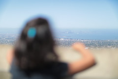 Looking Over At The City (swhodgeman) Tags: canon 5div l 50mm 5012 5012l kids girls girl 12 12l sf san francisco bay